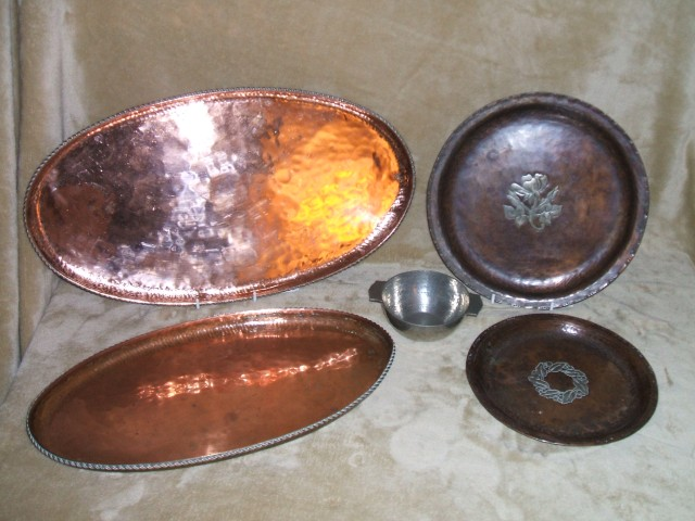 Graham's Hugh Wallis metalware.