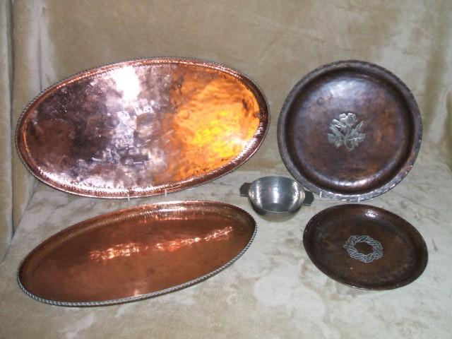 Graham's Hugh Wallis metalware.