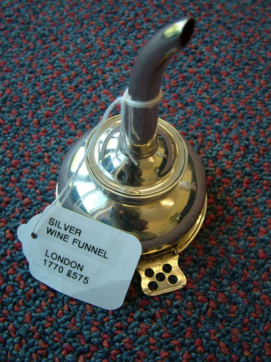 Georgian Silver Funnel