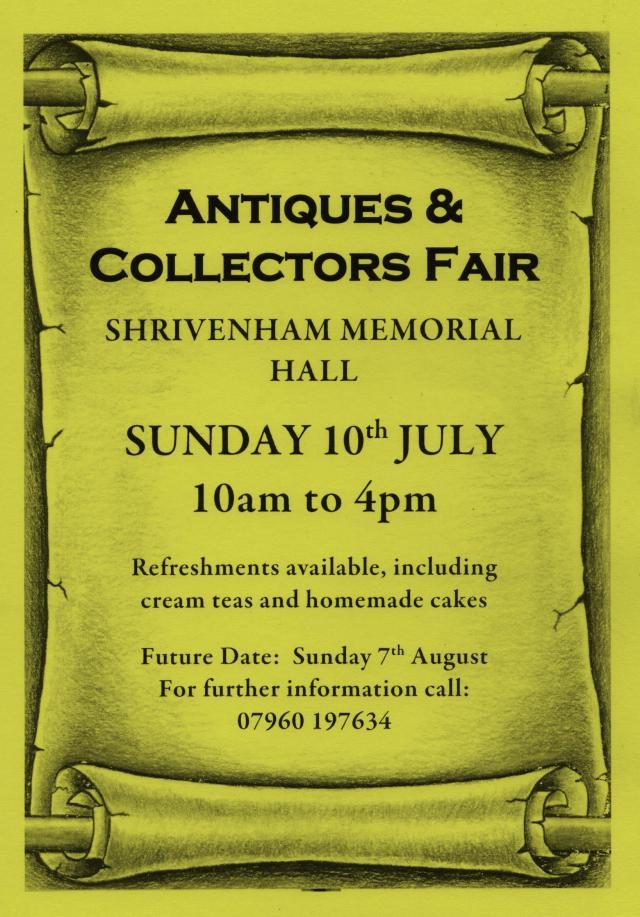 Shrivenham Fair Flyer